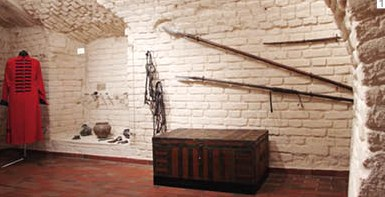 Fragment of the exposition dedicated to the appearance of the Venevitinovs in the Voronezh fortress