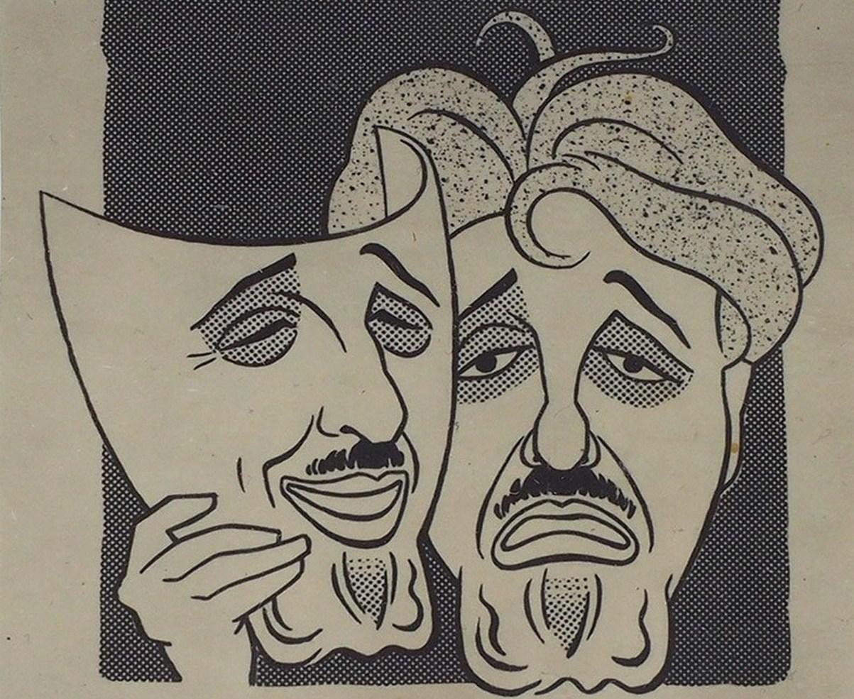Виктор Ардов Шарж И. Игина. М., 1960