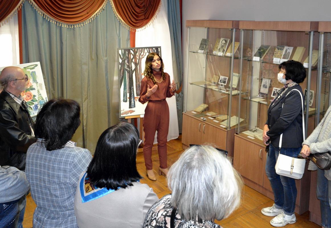 Выставка «Литературное окружение Ивана Бунина в эмиграции»001